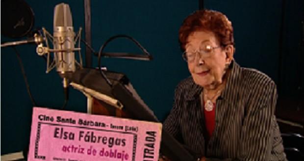 Ha fallecido Elsa Fábregas