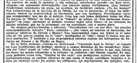"""Azorín y """"Los doblajes"""" (1954)"""