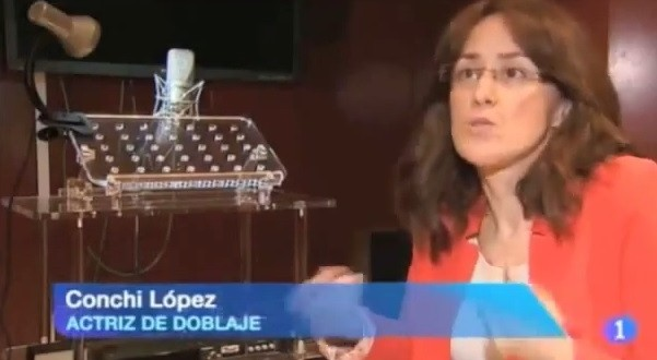 """Conchi López en el """"Día Mundial de la Voz"""""""