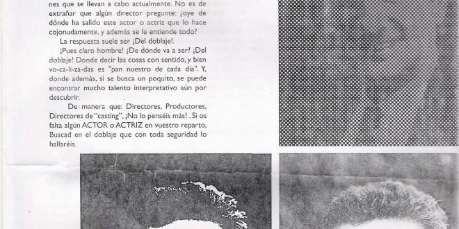 """""""Los actores de doblaje"""", por Carlos Ysbert"""
