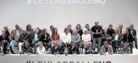 Artistas, autores y productores contra la Ley Lassalle.
