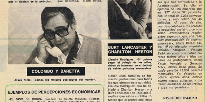 """Voces calladas"", 1979"