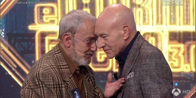 Dos caballeros: Franquelo y Stewart.