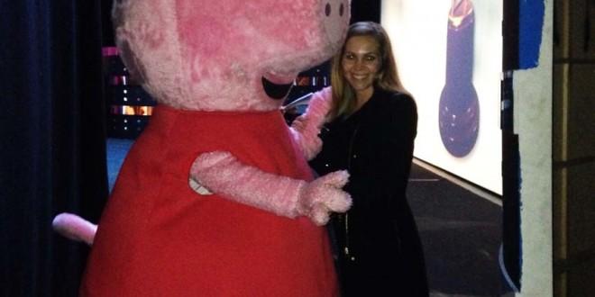 Peppa Pig en la gala de los premios Iris