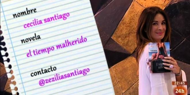 """Cecilia Santiago y """"EL TIEMPO MALHERIDO""""."""