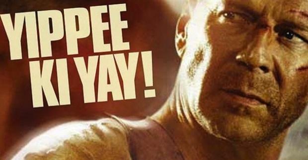 ¡Yippee ki yay!