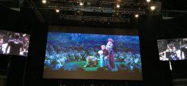 """Miguel Antelo y Laura Pastor en """"Disney in Concert FROZEN"""""""