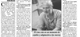 Fallece Daniel Goldstein, figura clave del sonido cinematográfico español.