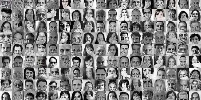 """""""Hoy mi voz se silencia por defender mis derechos"""""""