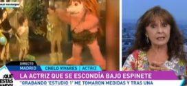 """Chelo Vivares: """"la actriz bajo Espinete"""" (y mucho más)"""