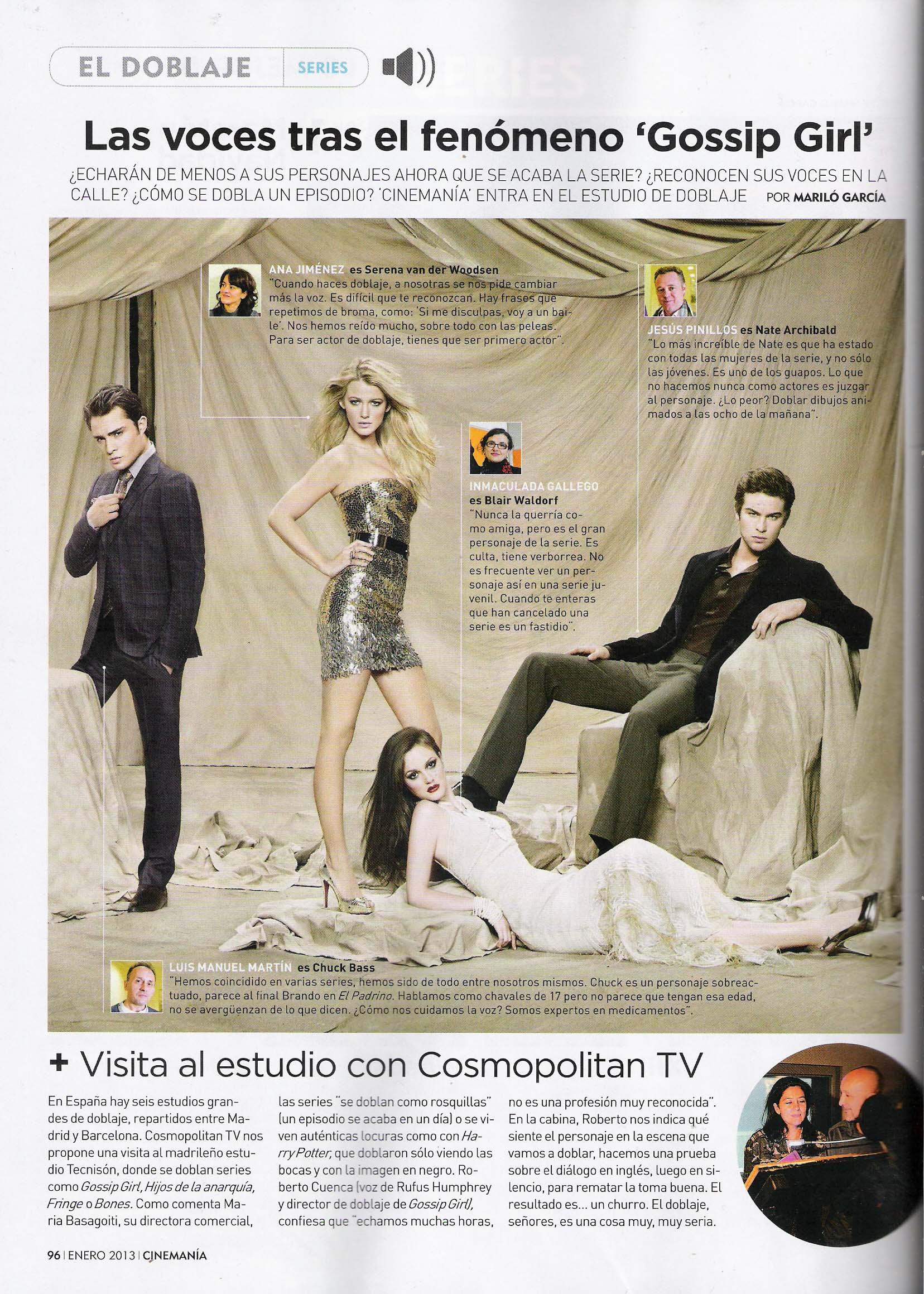 Gossip girl CINEMANÍA
