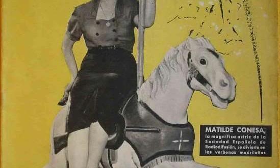 Matilde Conesa, la voz de una generación