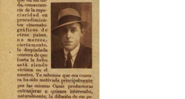 F. Moré de la Torre, director artístico de Fono-España (1935)