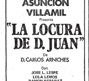 """""""La locura de D. Juan"""" (1980)"""