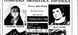 Estanis González. Julio Núñez. A escena.