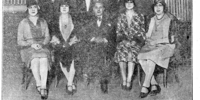 Irene Guerrero de Luna, 1928