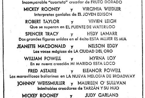 """El """"stand"""" de La Metro (1943)"""