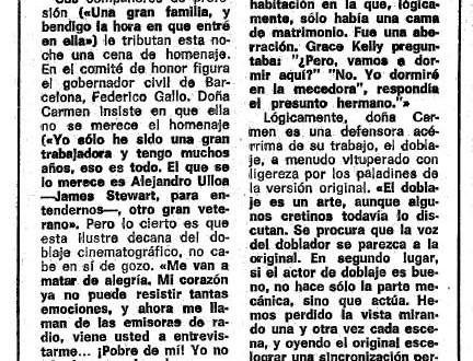 """Carmen Robles: """"Mamie"""" y el incesto de """"Mogambo"""""""
