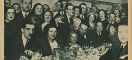 Banquete en Fono-España, 1936
