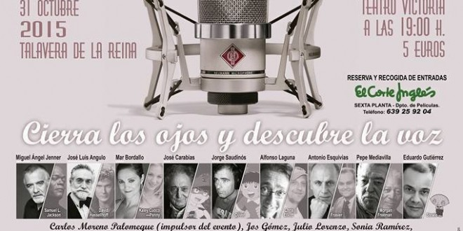 """""""EL PODER DE LA VOZ: Cine, Literatura y Música al alcance de todos""""."""