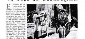 """""""La fauna del cinematógrafo"""", 1931"""