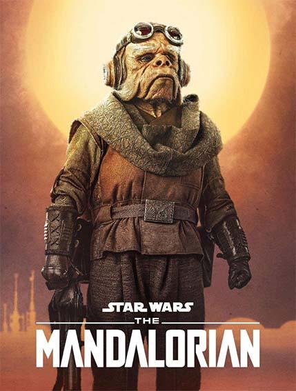 Nick Nolte (Kuill) en la serie The Mandalorian