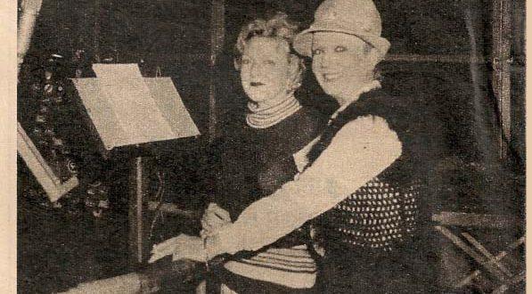 """Conchita Núñez, la voz de """"Tom Sawyer""""."""