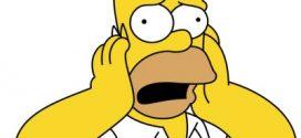 Homer se pone serio