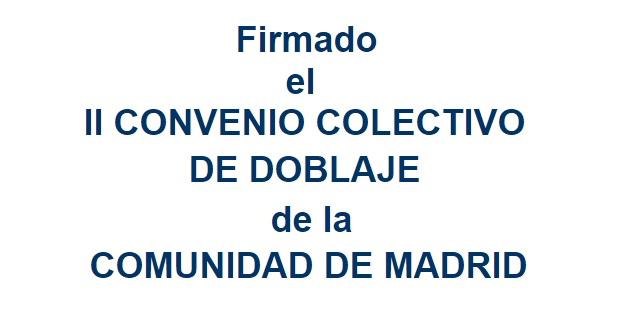 FIRMADO EL NUEVO CONVENIO
