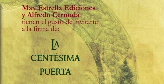"""Alfredo Cernuda presenta """"La Centésima Puerta"""""""