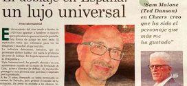 """Fernando De Luis: """"Un actor tiene que ser todoterreno"""""""