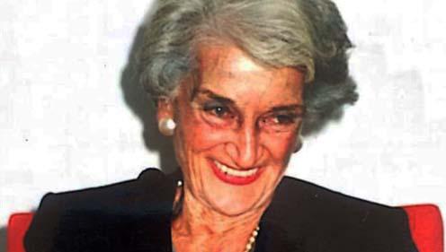 Ha fallecido Nelli Manso de Zúñiga