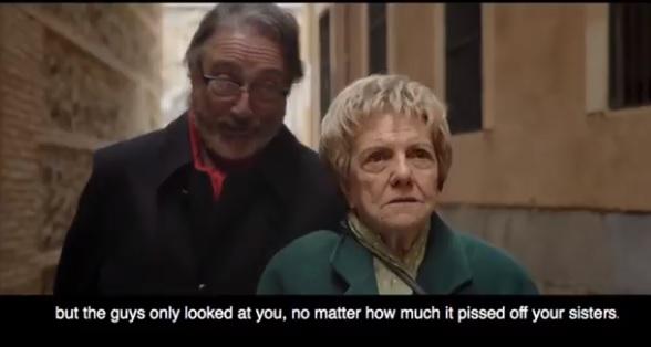 """Selica Torcal y Alfonso Laguna en """"La primera vez que te vi"""""""