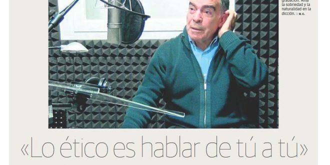 """José María del Río: """"He narrado muy buena literatura"""""""
