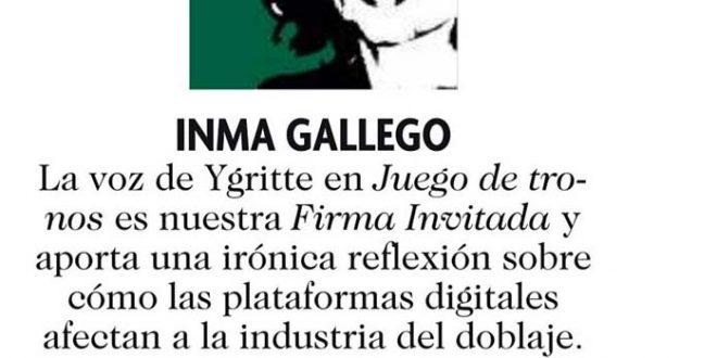 """""""Gladiadores de la onda"""", por Inma Gallego"""