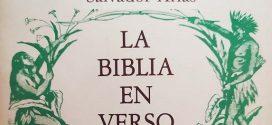"""""""La Biblia en verso"""" (de Salvador Arias)"""